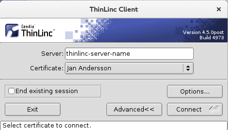 Smart card auth  in ThinLinc | ThinLinc by Cendio